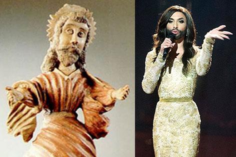 Heilige Kümmernis und Conchita Wurst
