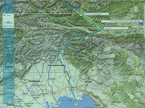 Alpen Adria Trail Radweg