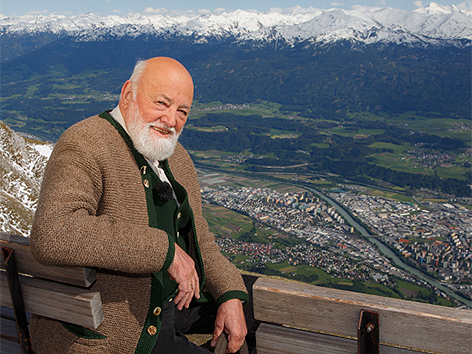 Sepp Forcher in Innsbruck