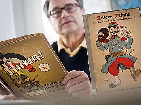 Kinderbücher im 1.Weltkrieg