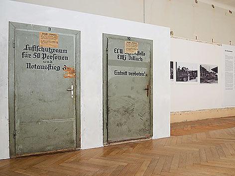 Ausstellung Bahn in NS Zeit Landesmuseum