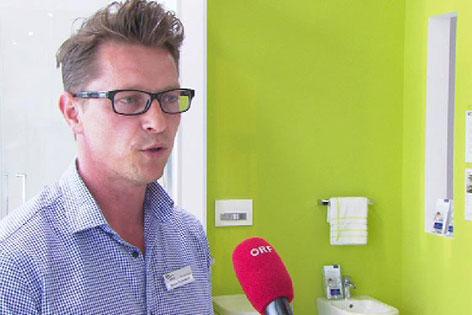 Sanitärfachmann Markus Felbermair