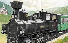 Briefmarke Murtalbahn