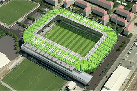 Neues Rapid-Stadion