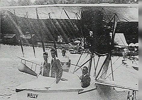Flugboot Nachbau Schule