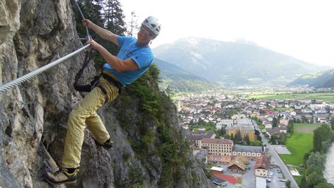 Klettersteig Zams : Klettersteig galugg zams radio tirol