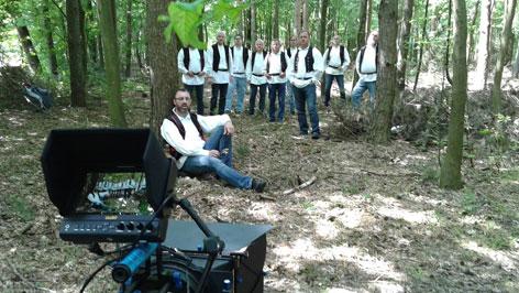 Koprive snimanje videoclip klapa Pinkovac