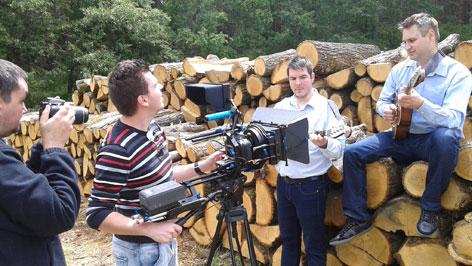Koprive snimanje videoclip