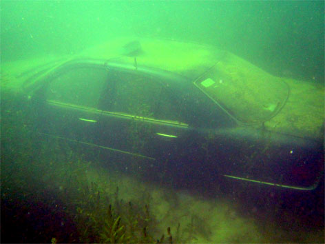 Taxi im Pichlingersee