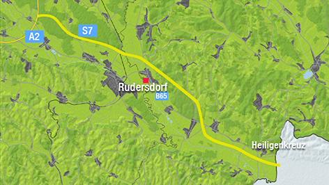 Grafik für geplanten Verlauf der S7