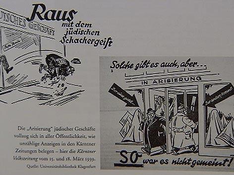 Ausstellung Villach Arisierungen Juden