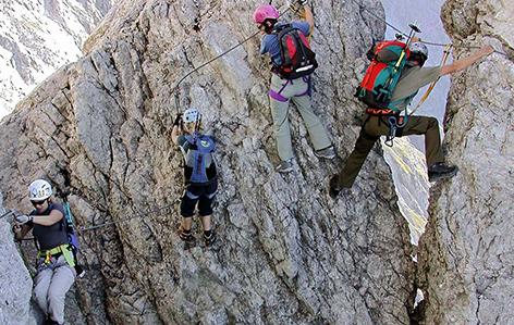 Klettersteig Set Wien : Bergfex fernau klettersteig tour tirol