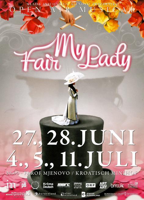 My fair Lady plakat