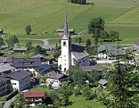 Ortsansicht von St. Martin bei Lofer