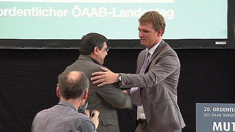 Bernhard Hirczy, neuer ÖAAB-Obmann