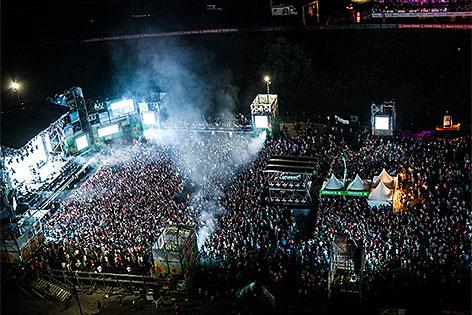 """Electric Love""-Festival auf dem Salzburgring"