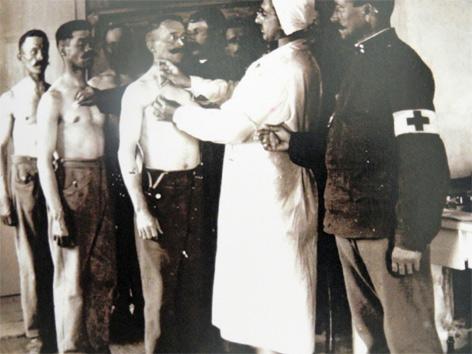 Kriegsgefangenenlager Marchtrenk Wassertrum