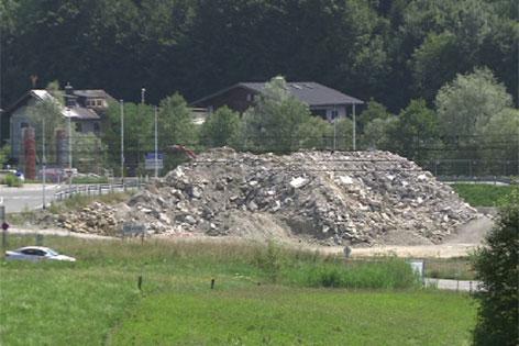 Illegale Deponie in Seekirchen