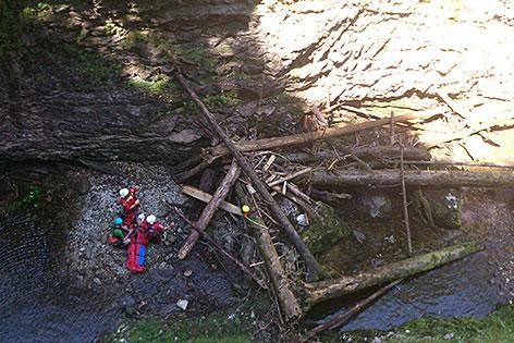 Klettersteig Postalmklamm : Aus klettersteig in bach gestürzt salzburg orf at