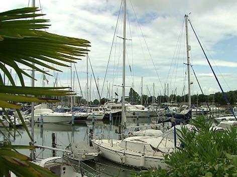 SSC Weltumsegler Marina Aquileia Hafen Segelyacht