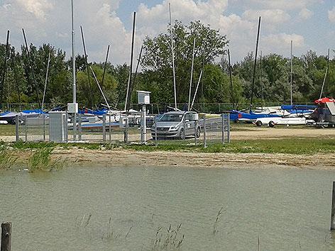 Wetterstation der ZAMG in Podersdorf