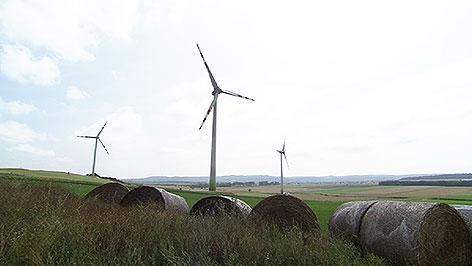 Windpark Baumgarten