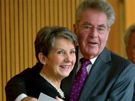 Barbara Prammer und Heinz Fischer