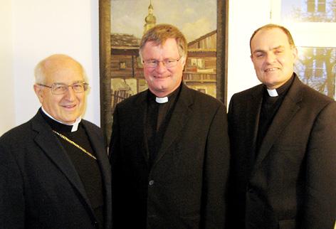 Erzbischof Luigi Bressan, Bischof Manfred Scheuer und Bischof Ivo Muser