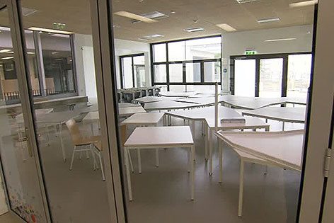 Klassenzimmer im Bildungscampus Sonnwendviertel beim Hauptbahnhof