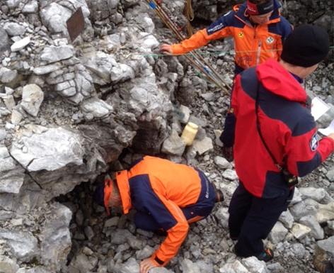 Rettungseinsatz im Tennengebirge