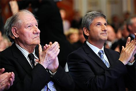 Erich Spindelegger und Michael Spindelegger