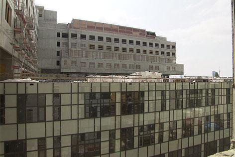 Rohbau Krankenhaus Nord