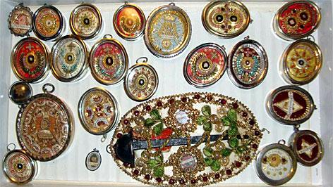 In Kremsmünster gestohlene Reliquien