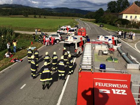 Unfall Packer Bundesstraße