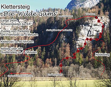 Klettersteig Zahme Gams : Fotogalerie tourfotos fotos zur klettersteig tour