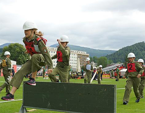 Feuerwehrjugend Bundesfeuerwehrjugend Wettkämpfe Feuerwehr