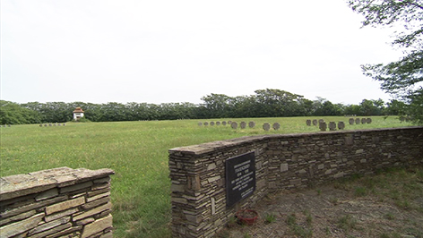 Friedhof des ehemaligen Kriegsgefangenenlagers Frauenkirchen