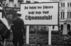 Bild Litzmannstadt mit Soldaten