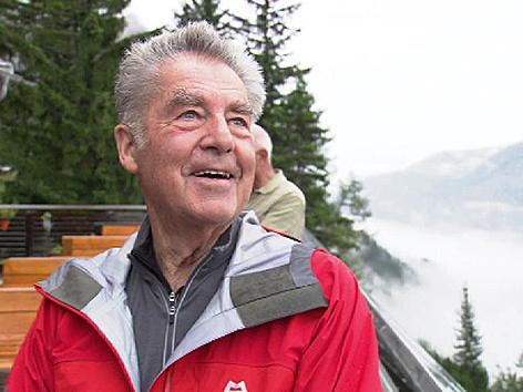 Wanderung Heinz Fischer