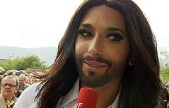 Empfang für Conchita Wurst