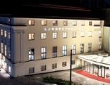 Landestheater, Schauspielhaus Nacht, Promenade Linz