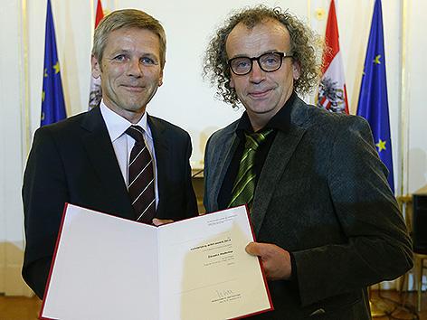 Josef Ostermeyer in Zdravko Haderlap