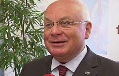 Franz Schausberger, Alt-Landeshauptmann von Salzburg und Vorsitzender des Instituts der Regionen Europas