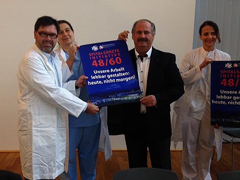Kabeg Betriebsversammlung Ärzteproteste