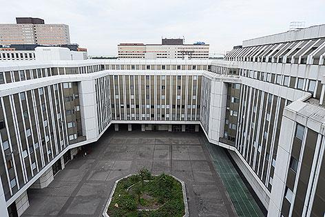 BIG-Gebäude in Wien-Erdberg für Asylanten