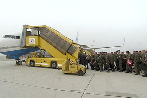 Bundesheer Sparflug Kosovo