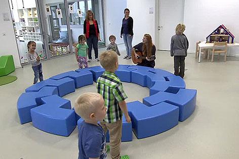 Kinder im Bildungscampus Sonnwendviertel