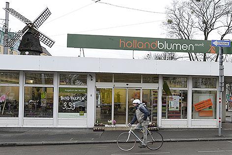Filiale von Holland Blumen Mark in Wien