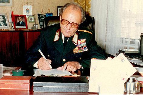 Polizeipräsident Karl Reidinger
