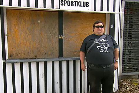 Sportklub-Stadionsprecher Roland Spöttling